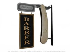 sign barber shop - Buscar con Google