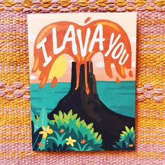 hippie painting ideas 693061830128826883 - I Lava You Card – Pretty Little Things Collective Source by pltcollective Disney Canvas Paintings, Disney Canvas Art, Simple Canvas Paintings, Easy Canvas Art, Small Canvas Art, Mini Canvas Art, Easy Canvas Painting, Cute Paintings, Hippie Painting