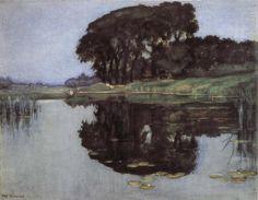 "Piet Mondrian, ""Shadow of Trees"""