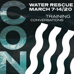 WaterRescueCon 2020 Water Rescue, Safety First, Water Crafts, New Girl, Handmade Crafts