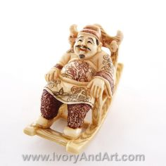 Amazing hand carved museum quality – mammoth ivory Netsuke of -Japanese Noble Man Sitting On the Swing Chair. This amazing Netsuke is A proud member of our MASTER Pieces Netsukes collection & of course that he was chosen by our stuff to one of our favorites Netsukes. All or Netsukes [...]
