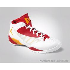 premium selection 34796 b6748 Jordan Fly Wade 2 EV  White Del Sol-Gym Red  Rounding out the upcoming  colorways of the Jordan Fly Wade 2 EV is this White Del Sol-Gym Red  colorway.