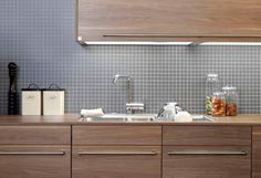 Kitchen Wall Interior Architecture, Interior Design, Vanitas, Double Vanity, Kitchens, New Homes, Bathroom, Modern, Home Decor