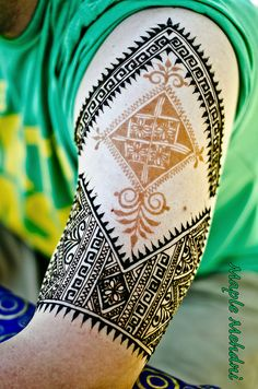 Moroccan inspired sleeve | Flickr - Photo Sharing!