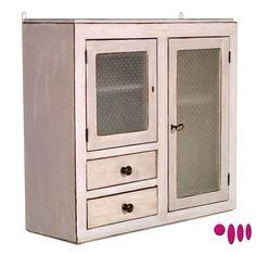 Shabby Chic display cabinet by Atelier myArtistic... read more: http://mobilishabbychic.blogspot.it/2012/03/vetrina-da-cucina-shabby-chic-showcase.html