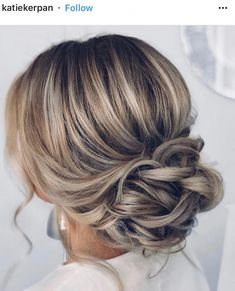 23 Stunning Wedding Hairstyles For The Elegant Bride . - 23 Stunning Wedding Hairstyles For The Elegant Bride - Hairdo Wedding, Wedding Hair And Makeup, Dress Wedding, Wedding Bride Hairstyles, Wedding Ceremony, Bridal Hair Updo Elegant, Low Bridal Updo, Wedding Hair Blonde, Wedding Hair For Short Hair