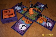 Pumpkin Patch Magic Box by Dolly Watt - Cards and Paper Crafts at Splitcoaststampers