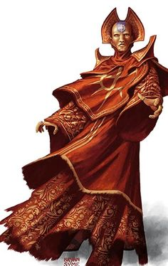 """Nabonidus, the """"Red Priest,"""" a clergyman with a strong power base, and the real power in Corinthia."""