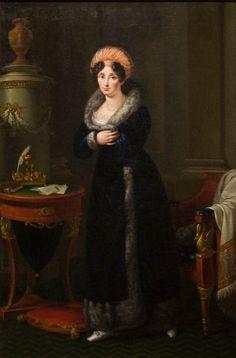 1827 Elisa Bonaparte by Francesco en Alberto Alberi (Musée Curtius - Liège Belgium) Photo - Paul Hermans | Grand Ladies | gogm