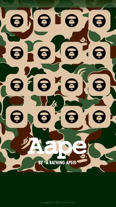 """Background """"A Bathing Ape ®"""" for IPhone (Start screen) Camo Wallpaper, Iphone Homescreen Wallpaper, Walpaper Iphone, Mood Wallpaper, Apple Wallpaper, Aesthetic Iphone Wallpaper, Mobile Wallpaper, Bape Wallpapers, Start Screen"""