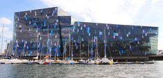 Centro de conciertos y convenciones #Harpa, #Islandia