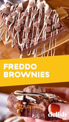 Ok, we're still not over the fact Freddos aren't anymore, but we still have a soft spot for the frog-shaped chocolate treat. Best Chocolate Brownie Recipe, Chocolate Chip Cheesecake Brownies, Perfect Brownie Recipe, Chocolate Treats, Brownie Recipes, Cheesecake Recipes, Giant Chocolate, Dessert Recipes, Chocolate Bars