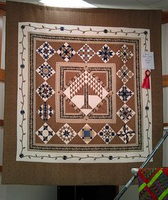 """Biblical Tree of Life"" Handmade Quilt"