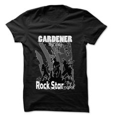 Gardener Rock... Rock Time ... 999 Cool Job Shirt ! - #tshirt drawing #pink sweatshirt. BUY NOW => https://www.sunfrog.com/LifeStyle/Gardener-Rock-Rock-Time-999-Cool-Job-Shirt-.html?68278