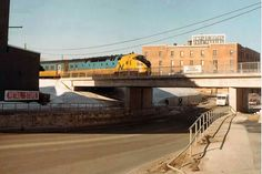 Ontario Northland through Timmins Canada Rail, Quebec, Ontario, Trains, Roots, Mansions, History, House Styles, City