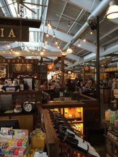 Oxbow Public Market is a creative restaurants, Juice venue, bakery, farmers, wineries all under one roof.