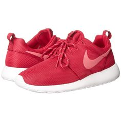 Nike Roshe Run Women's Shoes ($75) ❤ liked on Polyvore featuring shoes, athletic shoes, sneakers, nike, tennis shoes, nike shoes, traction shoes, waffle shoes, mesh shoes and lightweight shoes
