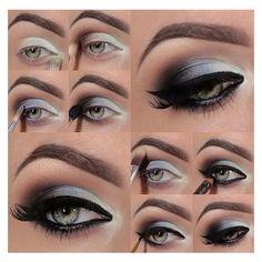 Smokey Eye Makeup Tutorial Pictures make-up bag Ross – Best Eye MakeUp Tips Eyeshadow Tutorial For Beginners, Smoky Eye Makeup Tutorial, Makeup For Beginners, Eyeshadow Tutorials, Makeup Tutorials, Makeup Ideas, Eye Tutorial, Beginner Makeup, Beauty Tutorials