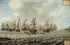Retourvloot uit Batavia by Marlin Burkunk Anglo Dutch Wars, Union Of South Africa, Dutch Republic, Old Sailing Ships, Flying Dutchman, Ship Paintings, African History, Tall Ships, Ancient Art