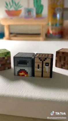 Diy Minecraft Decorations, Minecraft Crafts, Images Minecraft, Minecraft Designs, Diy Crafts Hacks, Cute Crafts, Diys, Minecraft Room, Minecraft Houses
