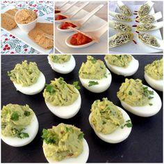 12 ideas para aperitivos sanos de Navidad. Para disfrutar de estas fiestas y reuniones familiares sin hincharnos de calorías grasas...