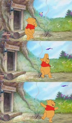 Winnie The Pooh Cartoon, Winnie The Pooh Drawing, Cute Winnie The Pooh, Winne The Pooh, Winnie The Pooh Quotes, Funny Iphone Wallpaper, Cute Disney Wallpaper, Cute Cartoon Wallpapers, Disney Cartoons