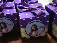 Banquete Buffet & Cia: Festa da Violetta - Disney Channel para a Letícia em 23/03/2013