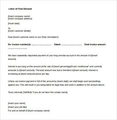 medical collection letter example should be used as a first reminder