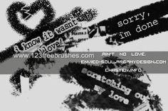 Grunge - Download  Photoshop brush http://www.123freebrushes.com/grunge-45/ , Published in #GrungeSplatter. More Free Grunge & Splatter Brushes, http://www.123freebrushes.com/free-brushes/grunge-splatter/ | #123freebrushes
