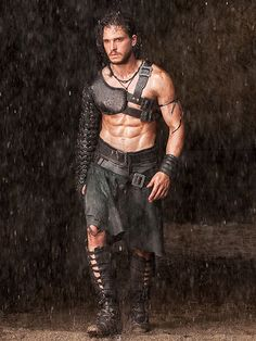 KIT HARINGTON.....yum. He wears too many clothes on Game of Thrones ;)