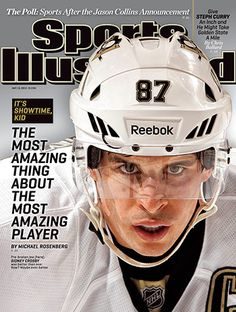 Sidney Crosby on Cover of Sports Illustrated - Pittsburgh Penguins he's back