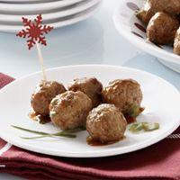 Asian Meatballs very good for an app