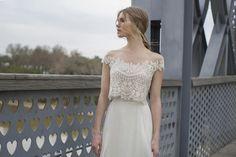 Divinos vestidos de novias | Colección en Dos Piezas
