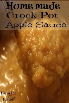 How to Make Homemade Crock Pot Apple Sauce