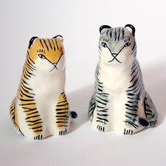 Ceramic Tigers