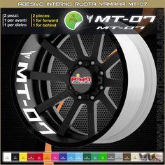 Strisce adesive cerchio Yamaha MT-07 interno di PIMAstickerslab