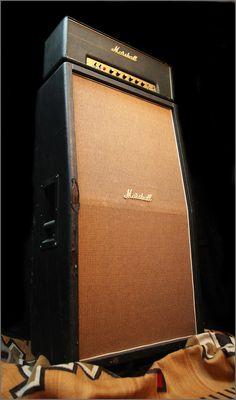 1969 Marshall 1986 JMP  -  50 Watt 8x10 Stack