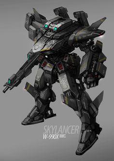 SkyLancer by rickyryan