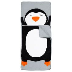 How Do You Zoo Sleeping Bag (Penguin) in Sleeping Bags | The Land of Nod I want one!! :D