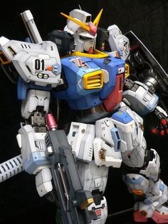 GUNDAM GUY: PG 1/60 Gundam Mk-II - Painted Build