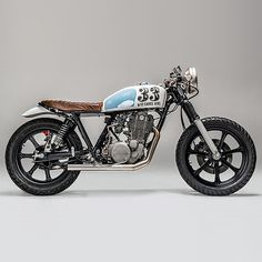 """Who Dares Wins"" Yamaha SR500 by Los Muertos Motorcycles"