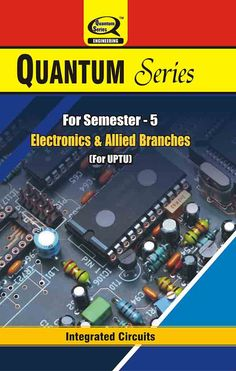 Unique Syllabus of #IntegratedCircuits #book are available on #QuantumSeries for #Electronics and #Allied #Branches students of 5th semester