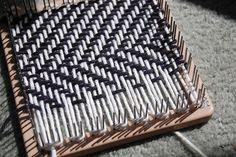 Tweed weave on the Weave-It