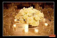 Boston Wedding Photography, Boston Event Photography, Floral Centerpieces, White Rose Centerpiece, Wedding Centerpiece, Classic White Wedding