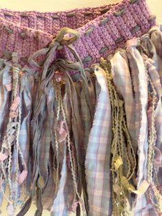 Purple Pixie Skirt - Purple & Blue - Girl's Fairy Clothing