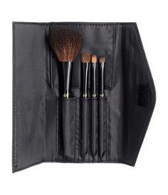 Travel Kit Makeup Brushes | Black | Ladies | H&M US