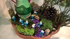 Pomysły plastyczne dla każdego, DiY - Joanna Wajdenfeld: Miętowy domek w mini ogródku