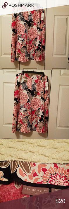 Kim Rogers Skirt Flora A line Kim Rogers Skirts Midi