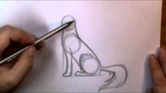 How to draw a Wolf howling by Art ala Carte