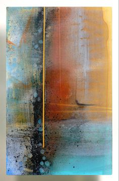 Kari Minnick - Fractal 2, Kiln glass and vitreous paint